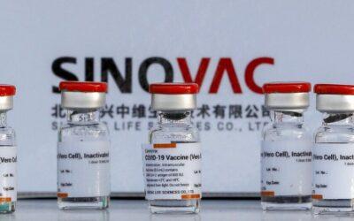 Concluye entrega de vacunas Sinovac contra COVID-19